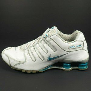 Nike Shox NZ Leather Running Shoes